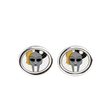Mf Doom shirt - Doom Dilla Madlib Oval Cufflinks