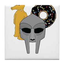 Mf Doom shirt - Doom Dilla Madlib Tile Coaster
