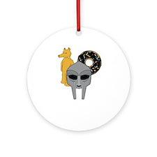 Mf Doom shirt - Doom Dilla Madlib Ornament (Round)