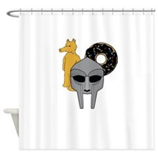 Mf Doom shirt - Doom Dilla Madlib Shower Curtain
