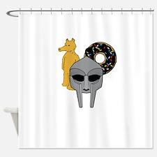 Mf Doom shirt - Doom Dilla Madlib Shower Curtain