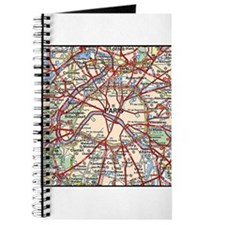 Map of Paris France Journal