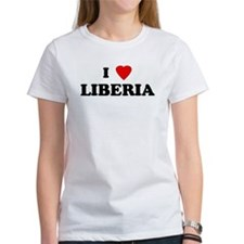 I Love LIBERIA Tee