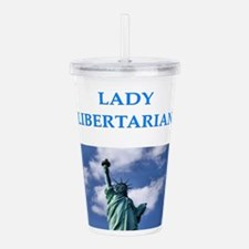 libertarian Acrylic Double-wall Tumbler