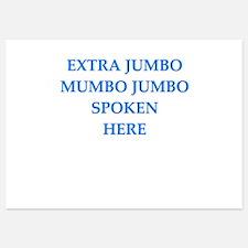 mumbo jumbo Invitations