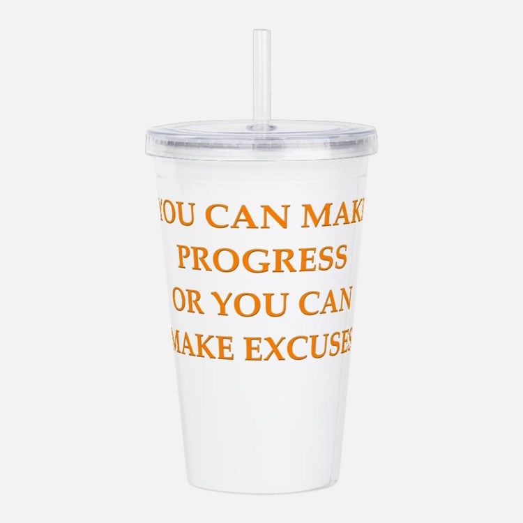 PROGRESS Acrylic Double-wall Tumbler