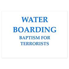 water boarding Invitations