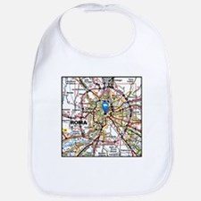 Map of Rome Italy Bib
