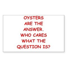 oysters Decal