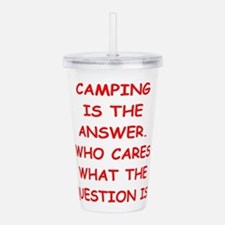 camping Acrylic Double-wall Tumbler
