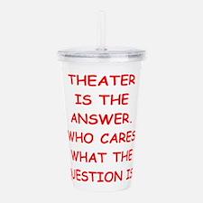 theater Acrylic Double-wall Tumbler