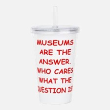 museums Acrylic Double-wall Tumbler