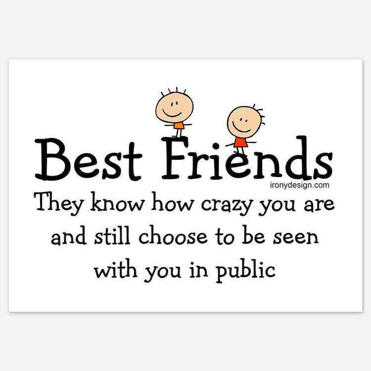 Best Friends Invitations