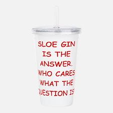 sloe gin Acrylic Double-wall Tumbler