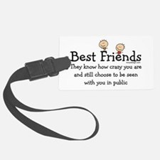 Best Friends Luggage Tag