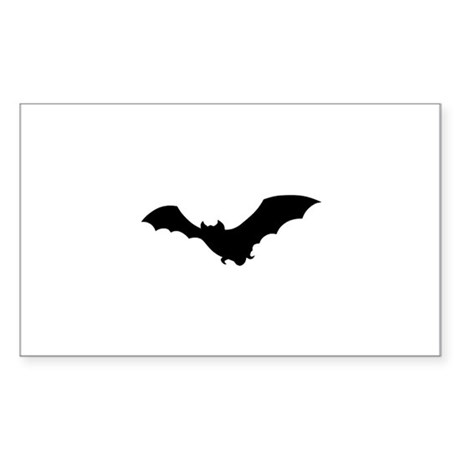 Vampire Bat Rectangle Sticker