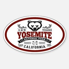 Yosemite Vintage Decal