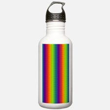 Wild Zany Rainbow Mena Water Bottle