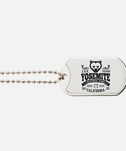 Yosemite Vintage Dog Tags