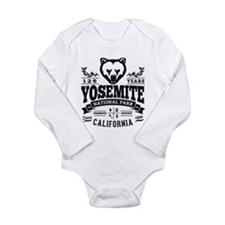 Yosemite Vintage Long Sleeve Infant Bodysuit