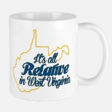 All Relative in West Virginia Mugs