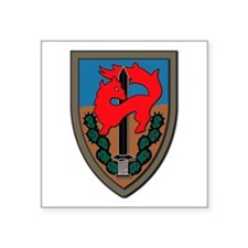 "Israel - Givati Brigade - N Square Sticker 3"" x 3"""
