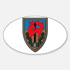 Israel - Givati Brigade - No Text Sticker (Oval)