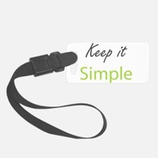 Keep it Simple Luggage Tag