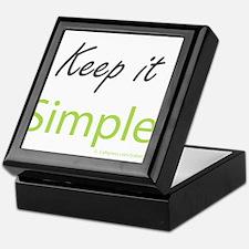 Keep it Simple Keepsake Box