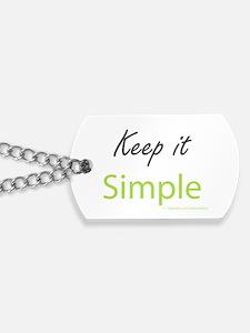 Keep it Simple Dog Tags