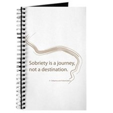sobriety is a journey Journal