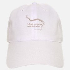 sobriety is a journey Baseball Baseball Cap