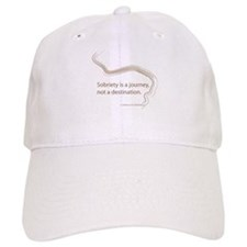 sobriety is a journey Baseball Cap