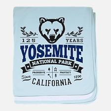 Yosemite Vintage baby blanket