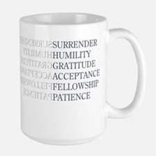 Surrender Large Mug