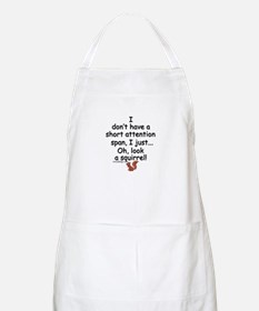 Attention Span Squirrel Apron