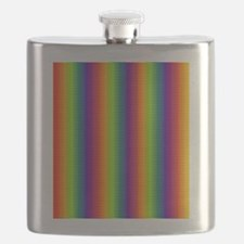 Wild Zany Rainbow Menagerie Flask