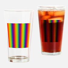 Wild Zany Rainbow Menagerie Drinking Glass