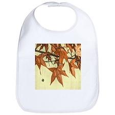 autumn maple leaves fall Bib
