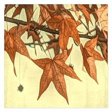 autumn maple leaves fall Invitations