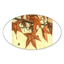autumn maple leaves fall Decal