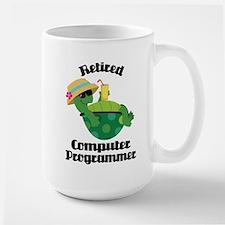 Retired Computer Programmer Mugs