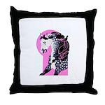 Dappled Arabian Throw Pillow