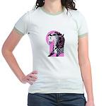 Dappled Arabian Jr. Ringer T-Shirt