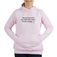 ADD full of Chicken Humo Women's Hooded Sweatshirt