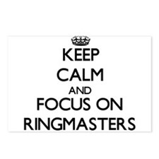 Keep Calm and focus on Ri Postcards (Package of 8)