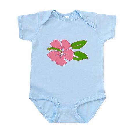Big Beautiful Hibiscus Infant Bodysuit