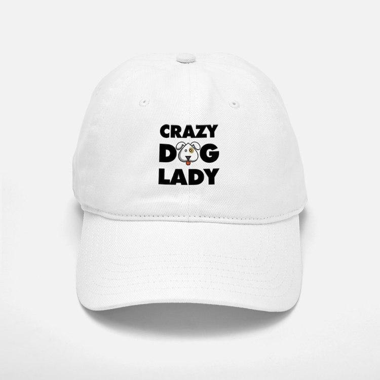 Crazy Dog Lady Baseball Baseball Baseball Cap