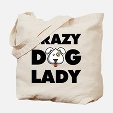 Crazy Dog Lady Tote Bag