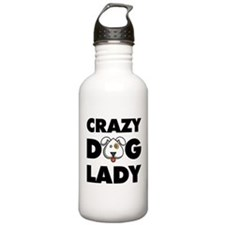 Crazy Dog Lady Water Bottle